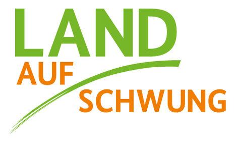 Digitale Kompetenz im ländlichen Raum Logo Land(auf)Schwung